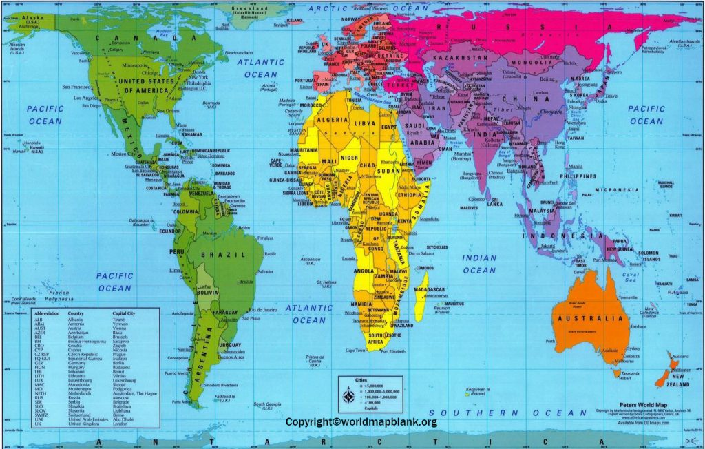 Accurate World map
