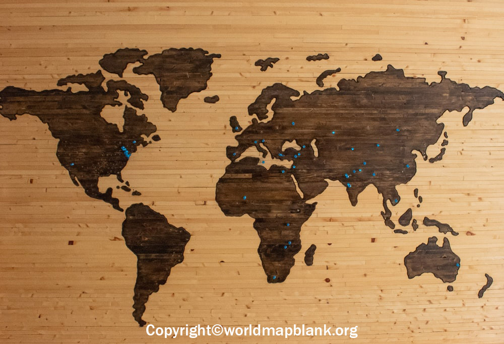 World Map Wallpaper for Wall