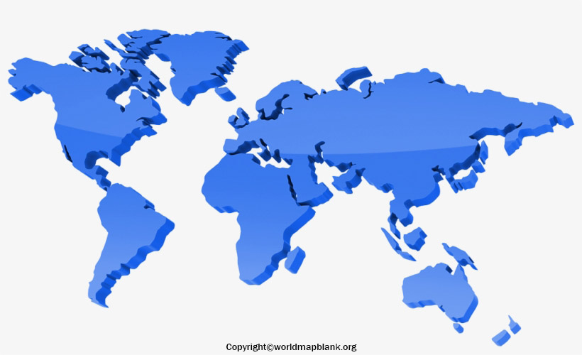 World Map Vector with Countries